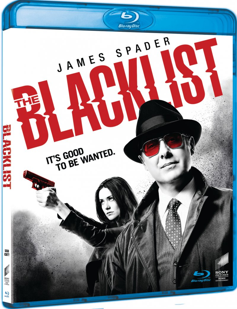 The Blacklist - Sæson 3 - Blu-Ray - Tv-serie