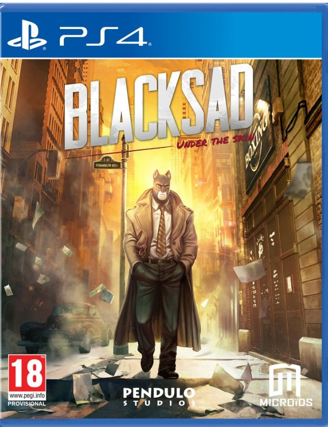 Image of   Blacksad - Under The Skin (limited Edition) - PS4