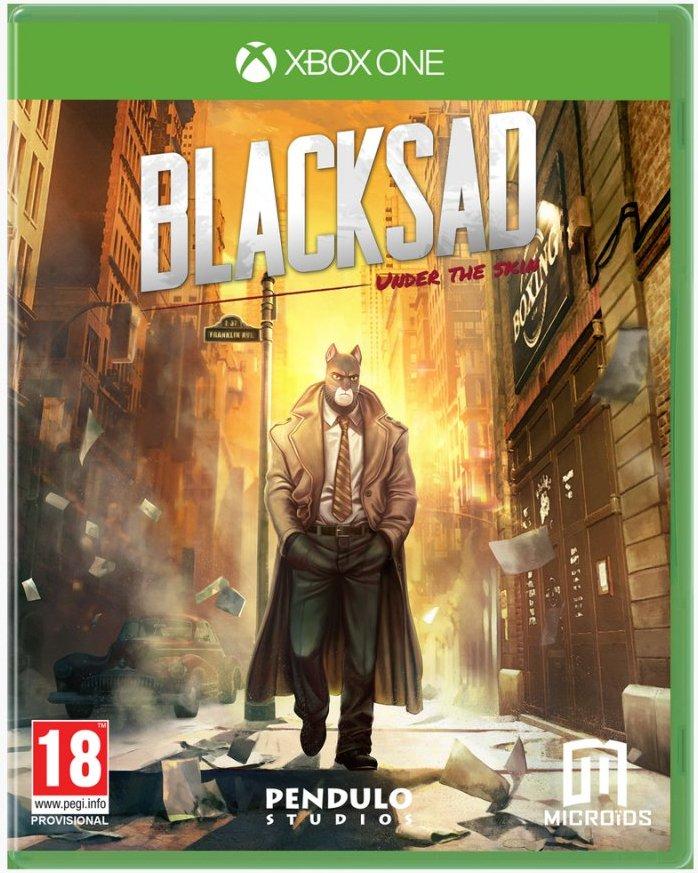 Image of   Blacksad - Under The Skin (limited Edition) - Xbox One