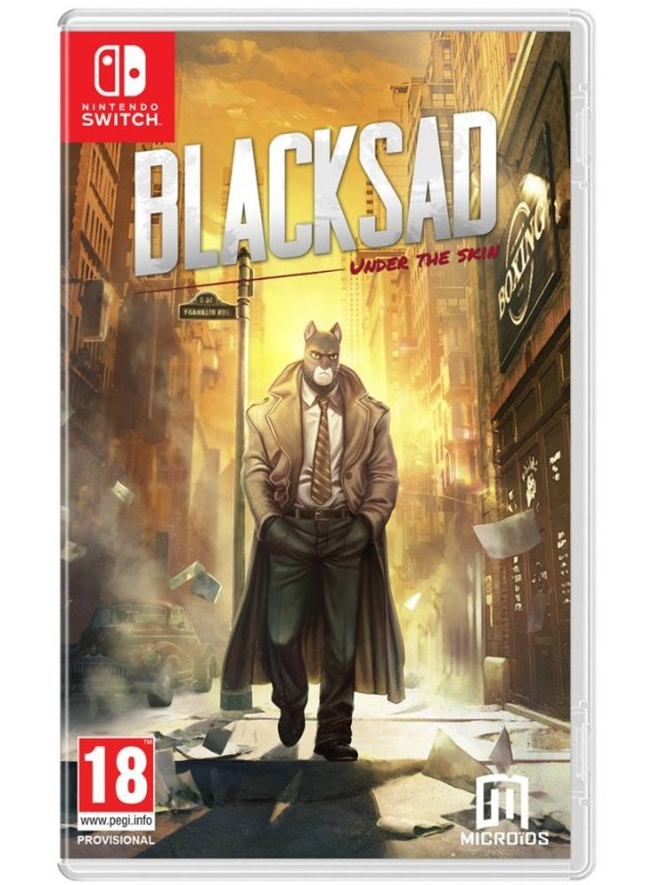 Image of   Blacksad - Under The Skin (limited Edition) - Nintendo Switch