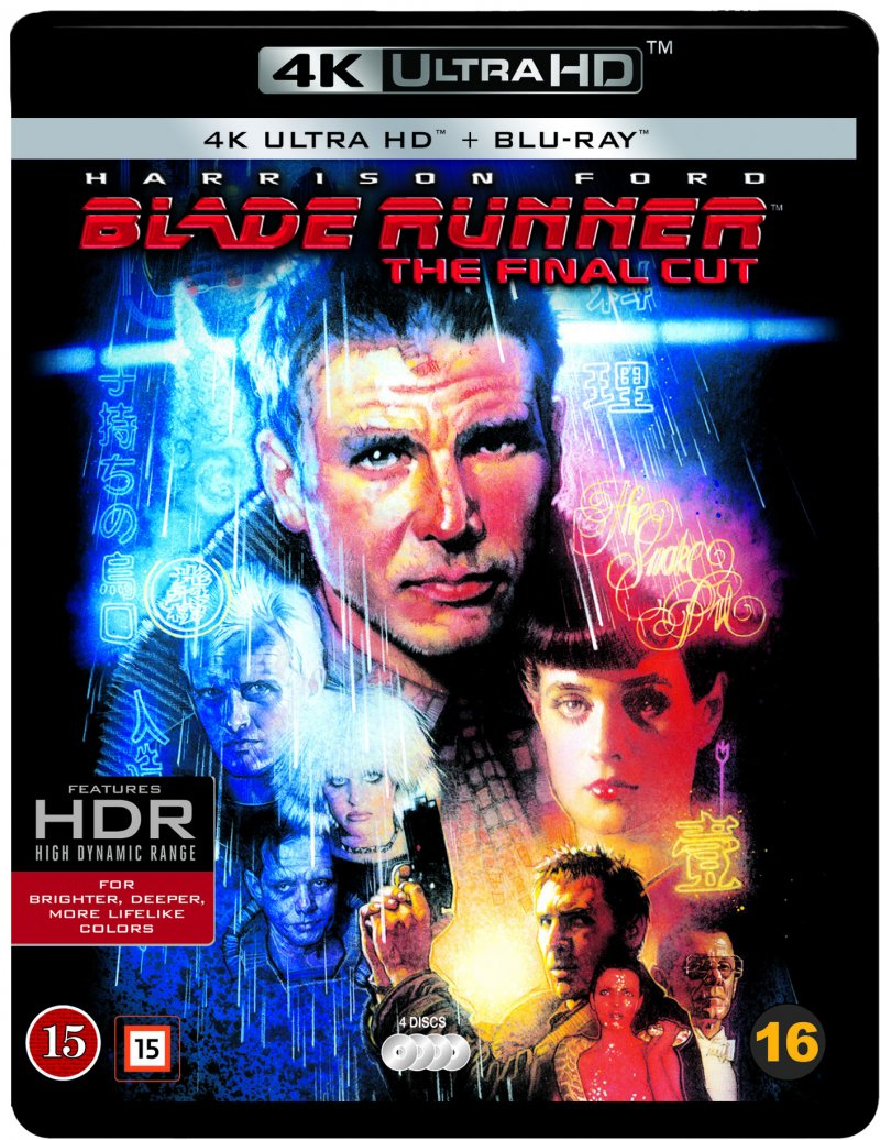 Image of   Blade Runner - The Final Cut - 4K Blu-Ray