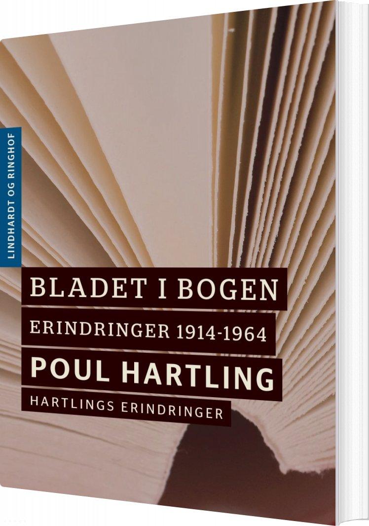 Image of   Bladet I Bogen - Poul Hartling - Bog