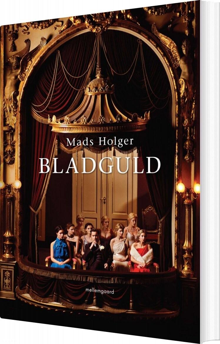 Billede af Bladguld - Mads Holger - Bog