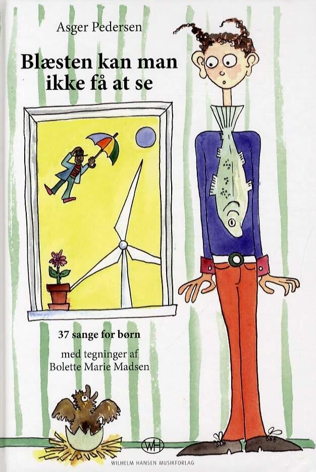 Image of   Blæsten Kan Man Ikke Få At Se - Asger Pedersen - Bog