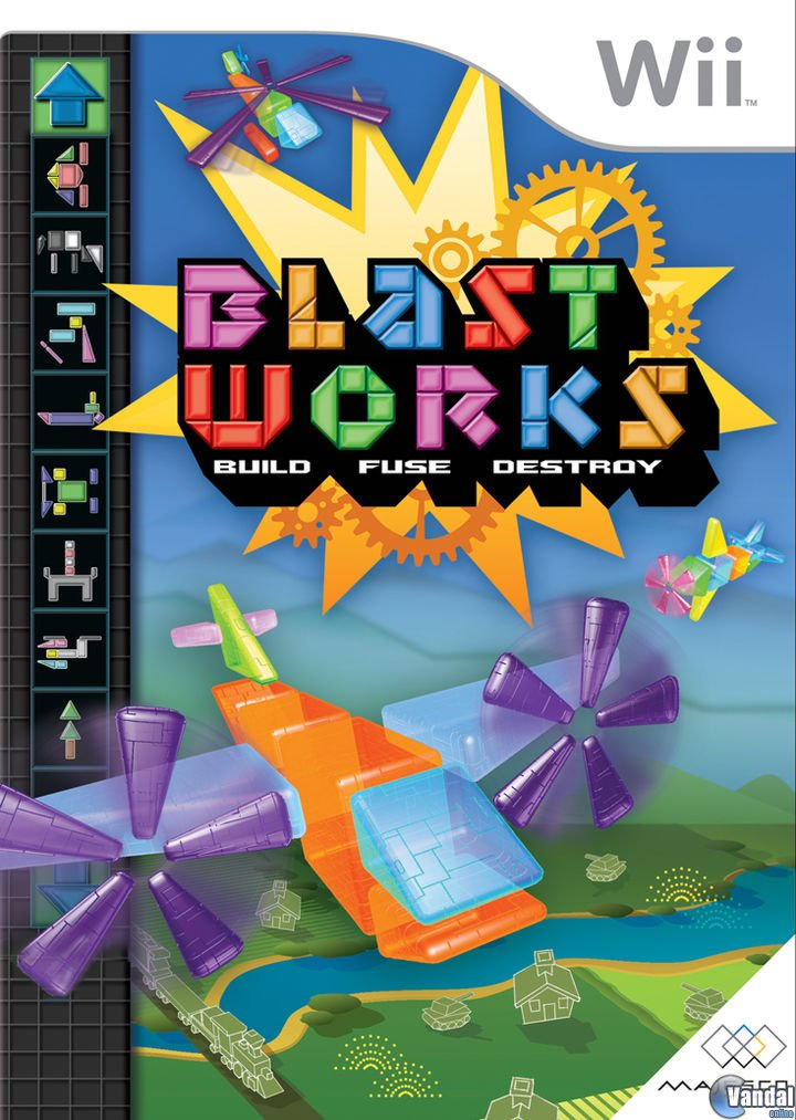 Blast Works - Build Trade And Destroy - Wii