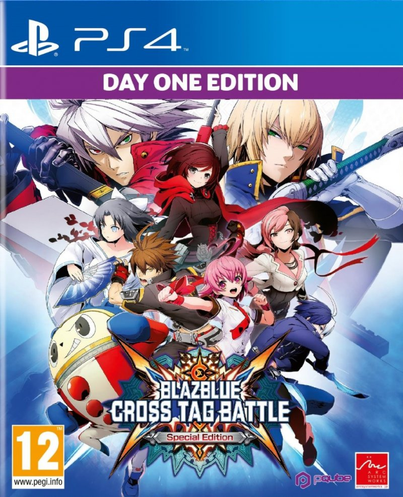 Image of   Blazblue Cross Tag Battle - Special Edition - PS4