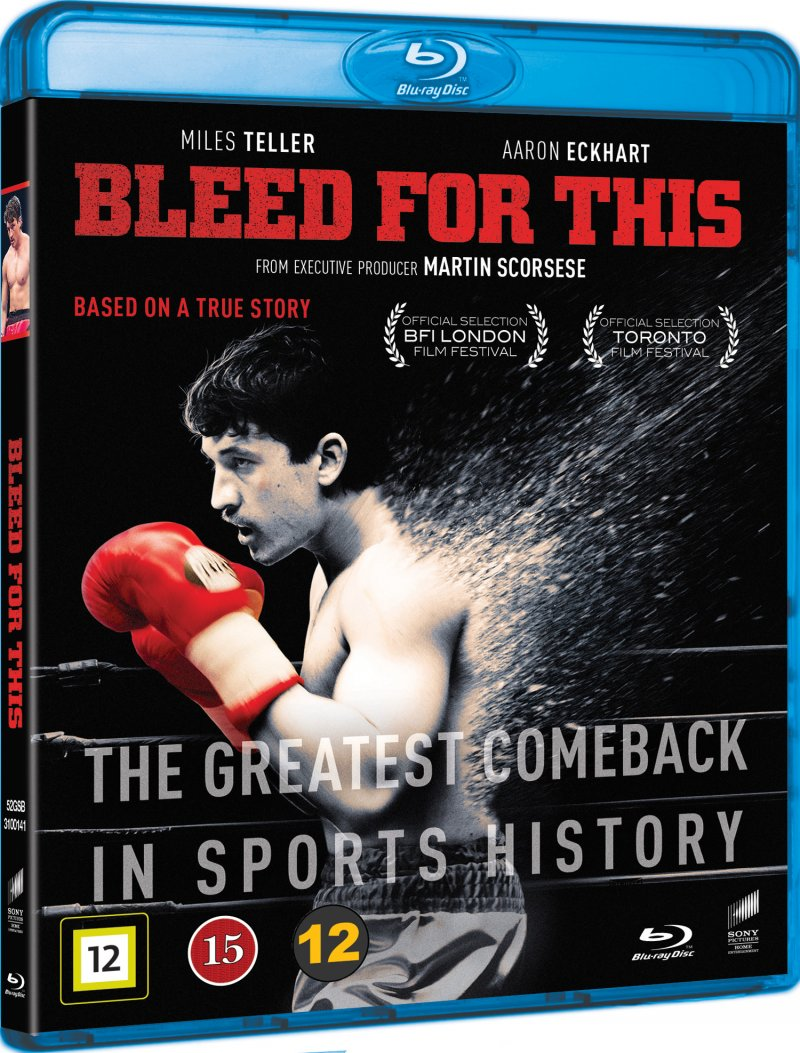 Image of   Bleed For This - Blu-Ray