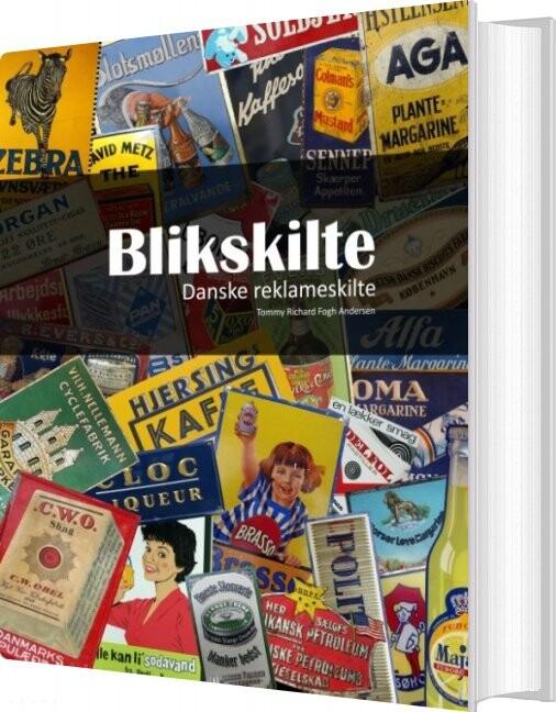 Image of   Blikskilte - Tommy Richard Fogh Andersen - Bog