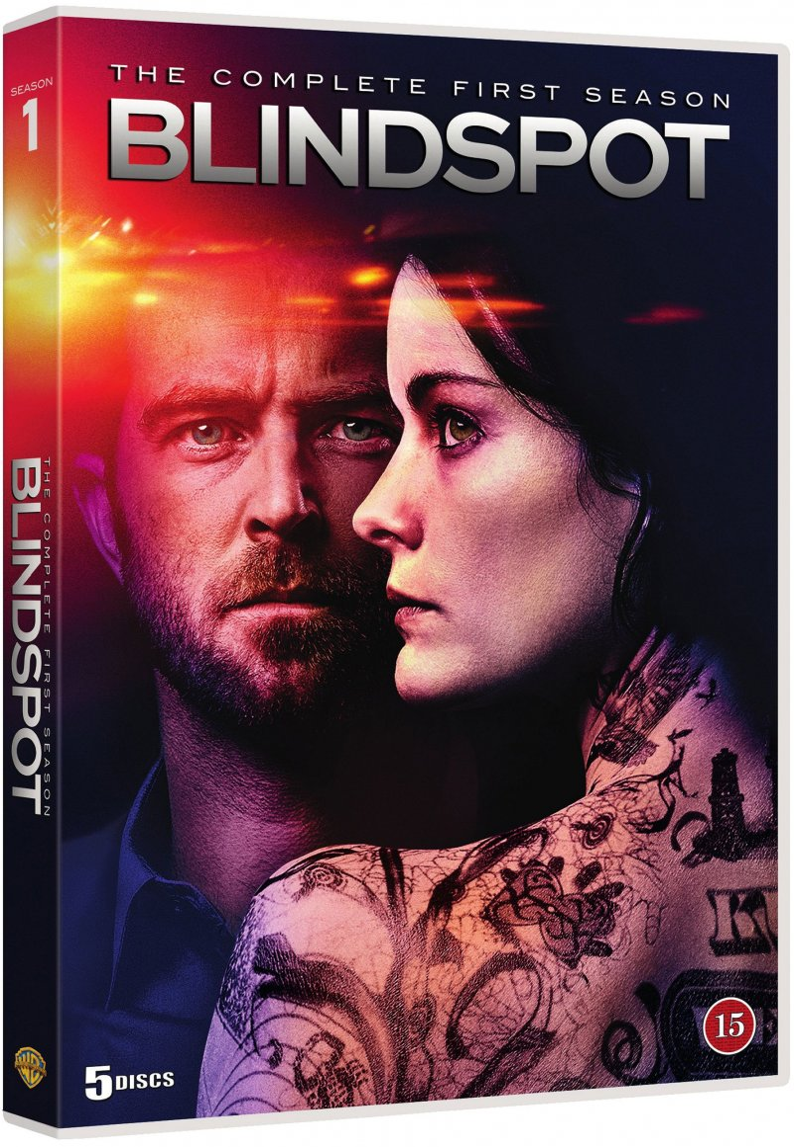 Image of   Blindspot - Sæson 1 - DVD - Tv-serie