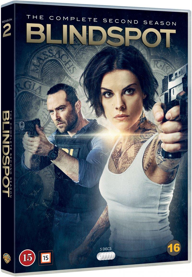 Image of   Blindspot - Sæson 2 - DVD - Tv-serie