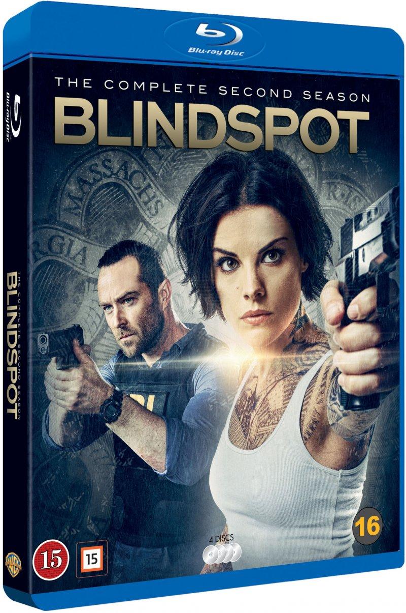 Image of   Blindspot - Sæson 2 - Blu-Ray - Tv-serie
