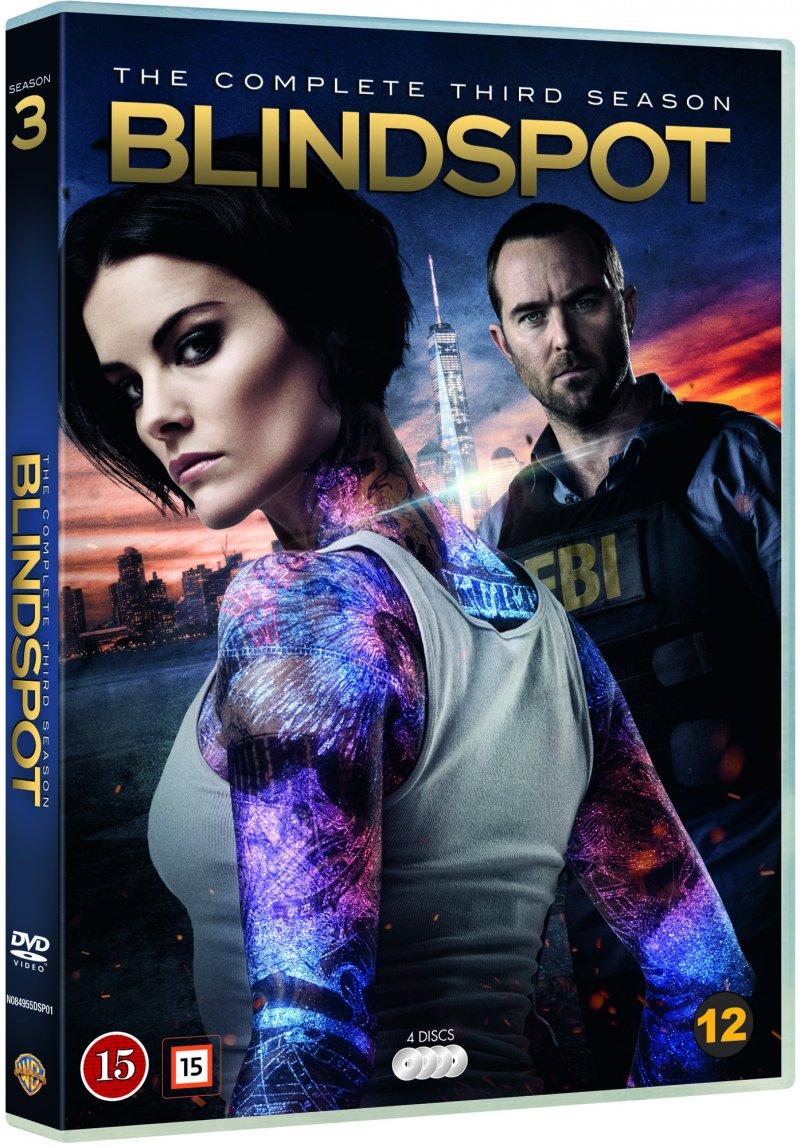 Image of   Blindspot - Sæson 3 - DVD - Tv-serie