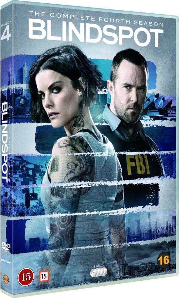Image of   Blindspot - Sæson 4 - DVD - Tv-serie
