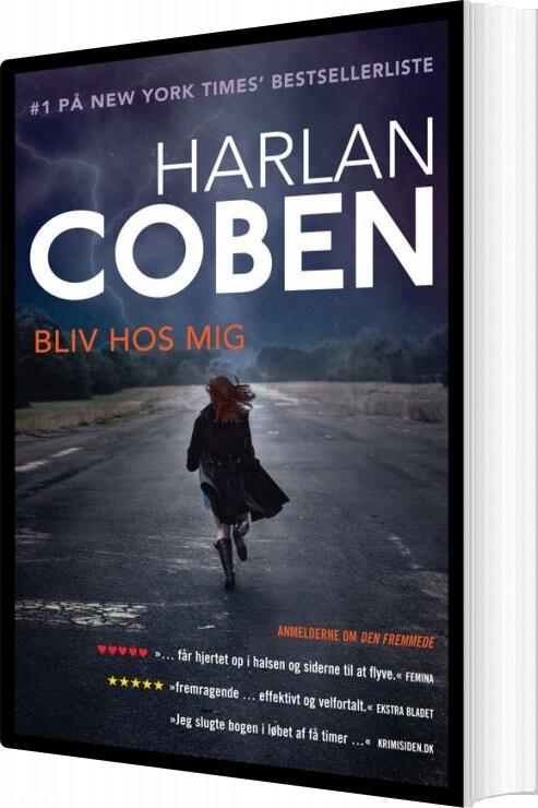Image of   Bliv Hos Mig - Harlan Coben - Bog