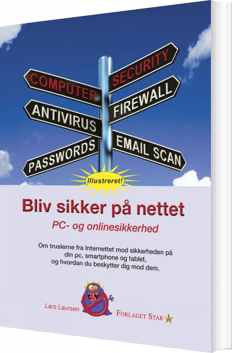 Image of   Bliv Sikker På Nettet - Lars Laursen - Bog