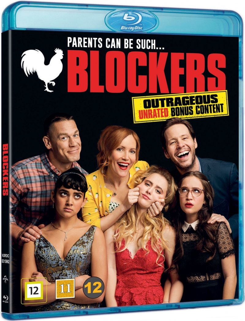 Image of   Blockers - 2018 - Blu-Ray