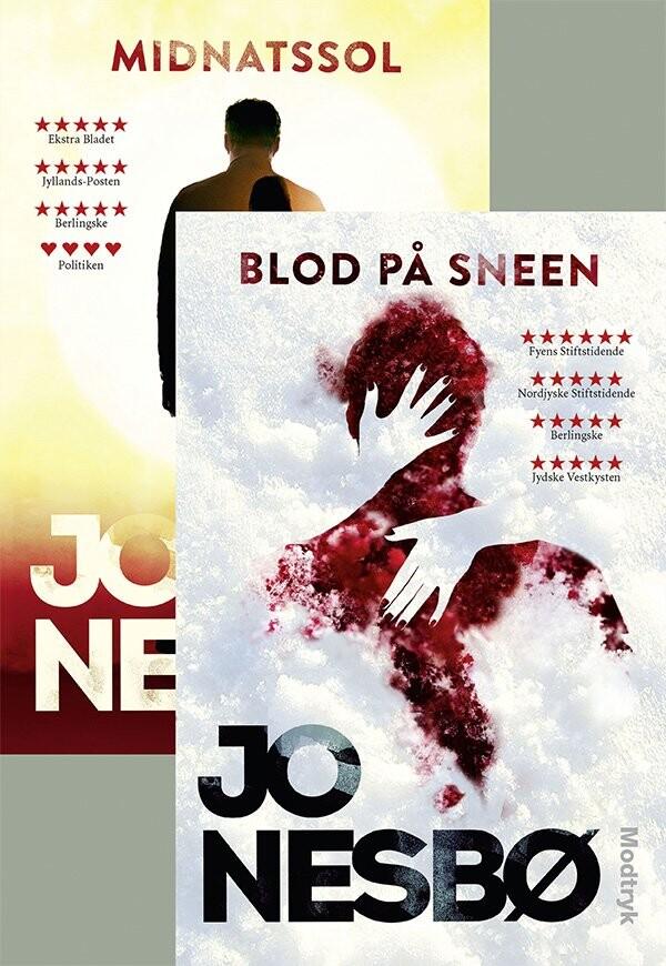 Image of   Blod På Sneen / Midnatssol - Jo Nesbø - Bog