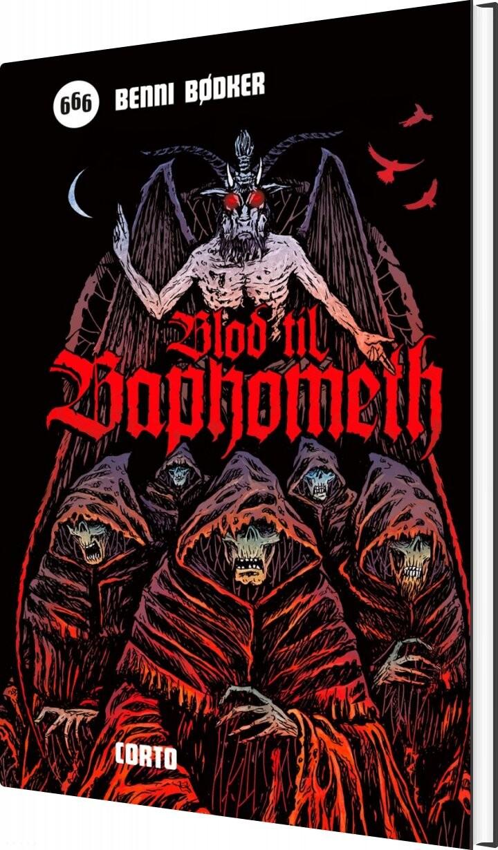 Image of   Blod Til Baphometh - Benni Bødker - Bog