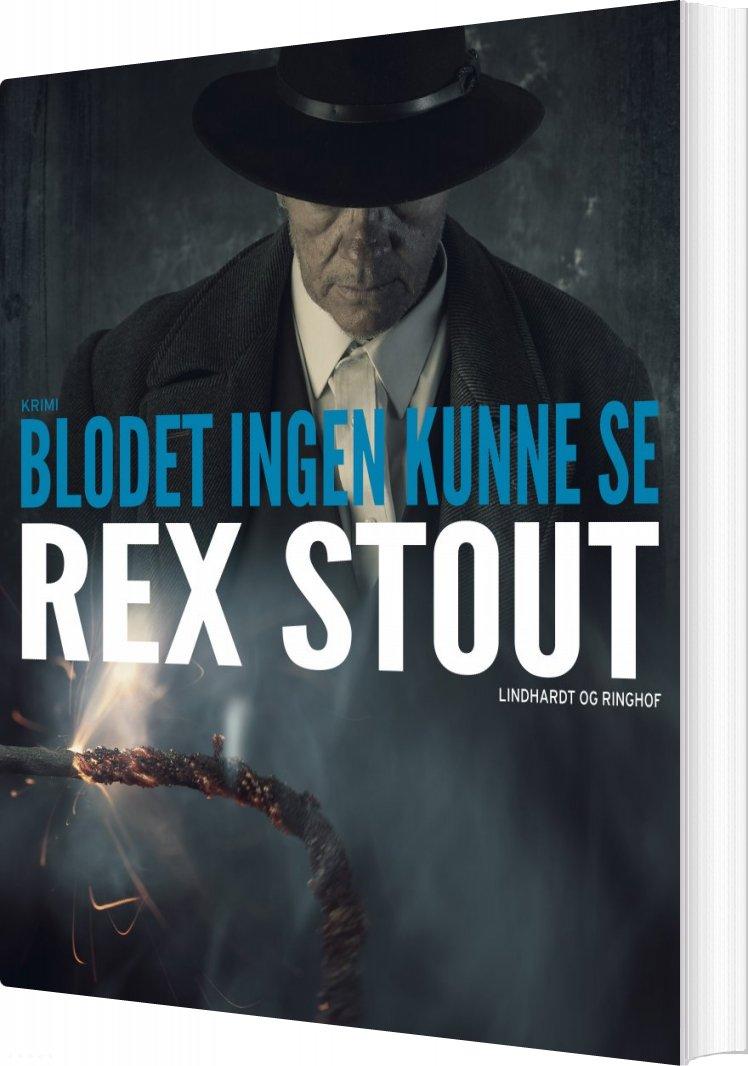 Image of   Blodet Ingen Kunne Se - Rex Stout - Bog