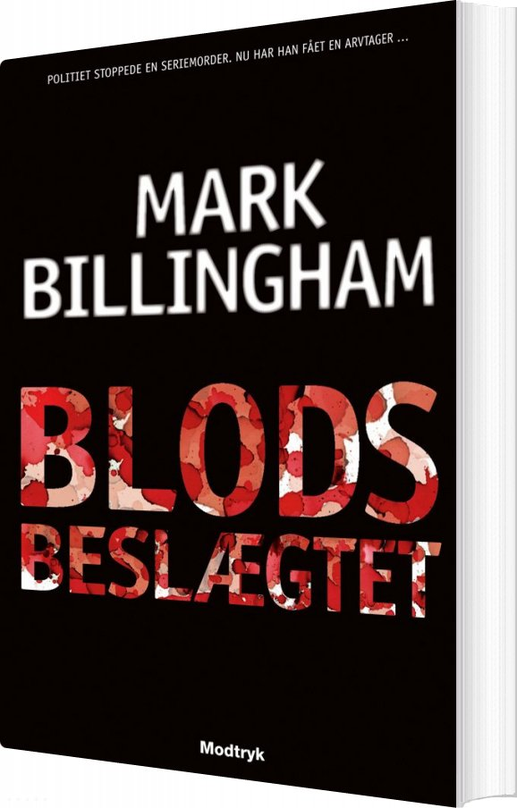 Image of   Blodsbeslægtet - Mark Billingham - Bog