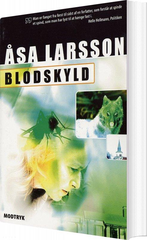 Image of   Blodskyld - åsa Larsson - Bog