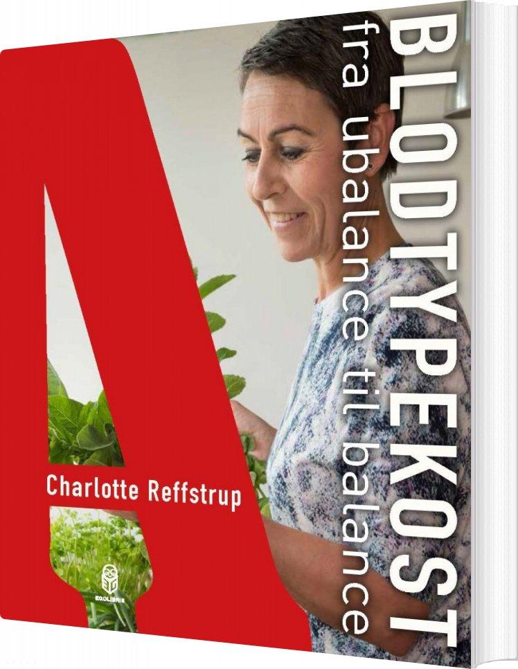 Image of   Blodtypekost - Charlotte Reffstrup - Bog