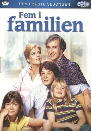 Image of   Blomsterbørns Børn / Family Ties - Sæson 1 - DVD - Tv-serie
