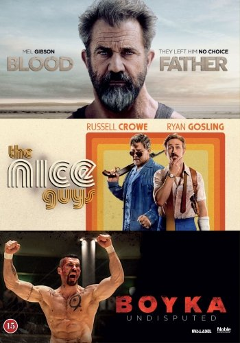 Image of   Blood Father // The Nice Guys // Boyka Undisputed - DVD - Film