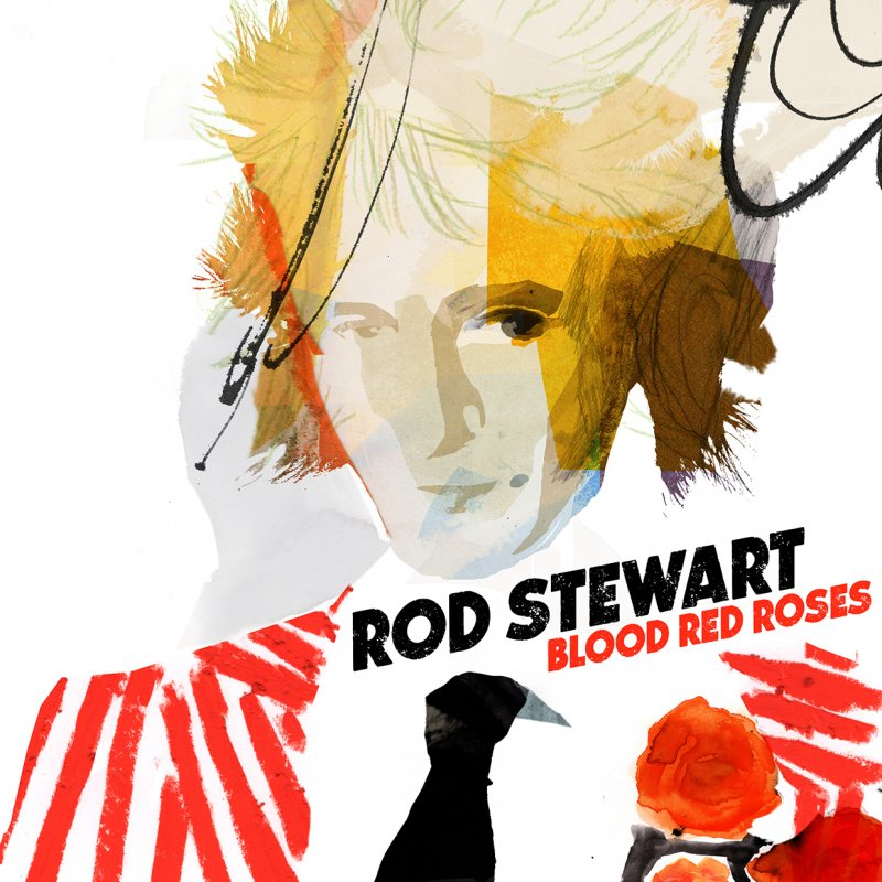 Rod Stewart - Blood Red Roses  - Vinyl / LP