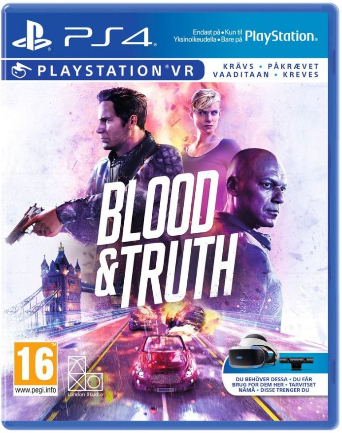 Image of   Blood & Truth (psvr) - PS4