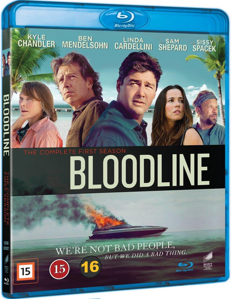 Bloodline - Sæson 1 - Blu-Ray - Tv-serie