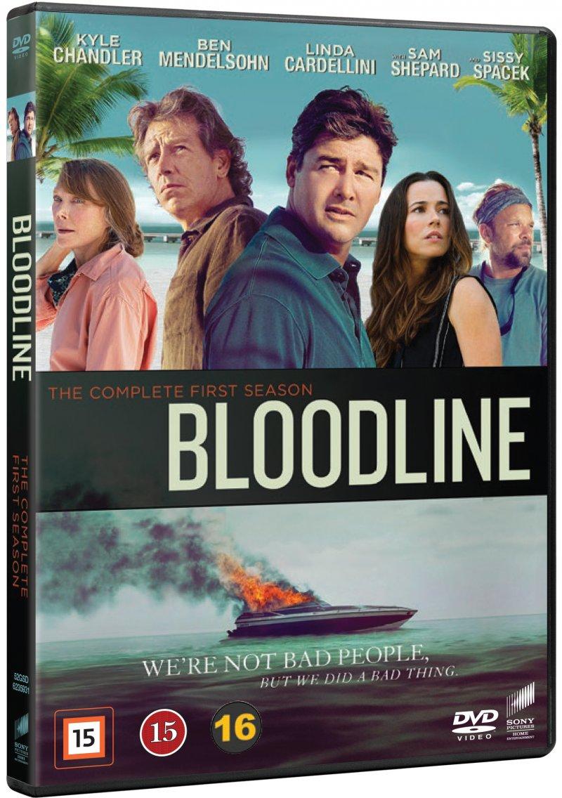 Image of   Bloodline - Sæson 1 - DVD - Tv-serie