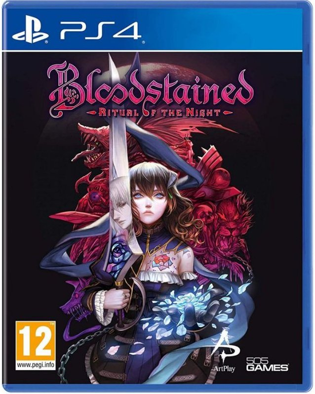 Image of   Bloodstained - Ritual Of The Night - PS4
