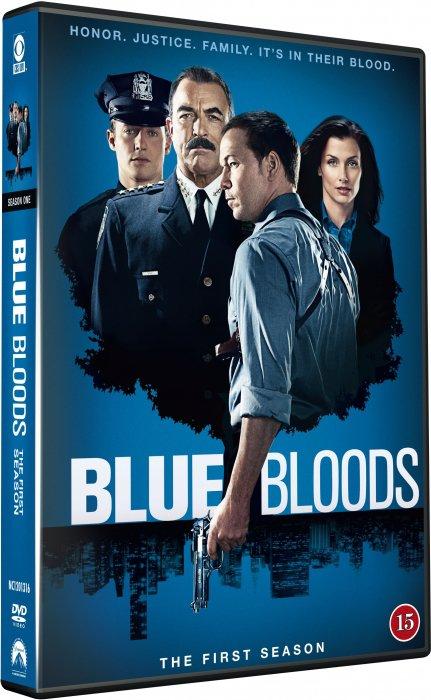 Image of   Blue Bloods - Sæson 1 - DVD - Tv-serie
