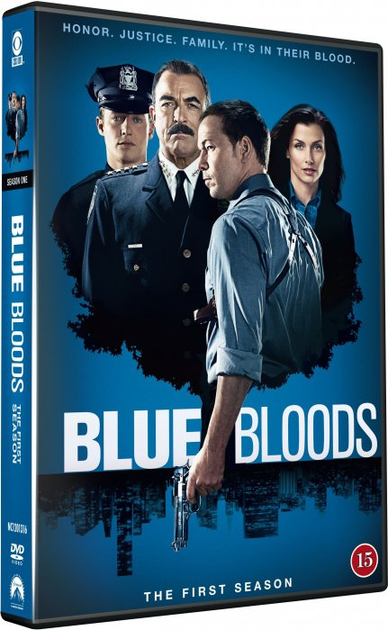 Image of   Blue Bloods - Sæson 1 - DVD - Tv-serie