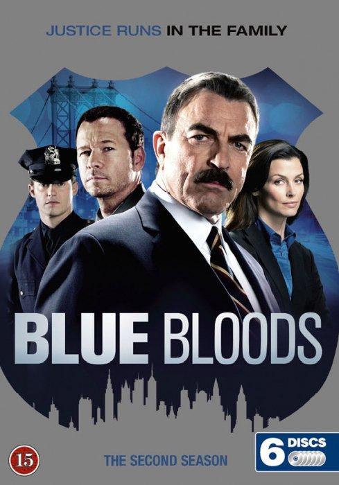 Image of   Blue Bloods - Sæson 2 - DVD - Tv-serie