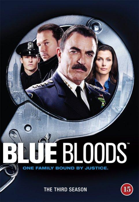 Image of   Blue Bloods - Sæson 3 - DVD - Tv-serie
