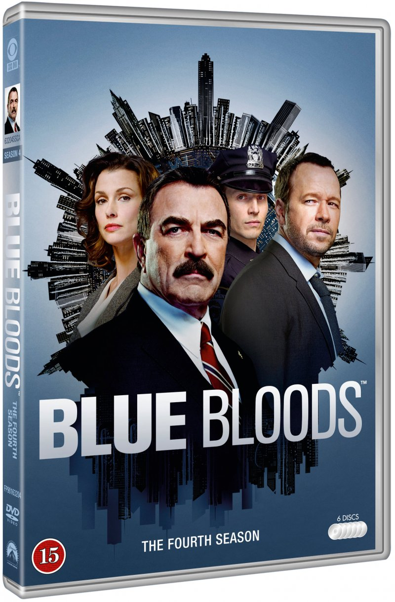 Image of   Blue Bloods - Sæson 4 - DVD - Tv-serie