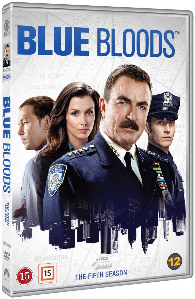 Image of   Blue Bloods - Sæson 5 - DVD - Tv-serie