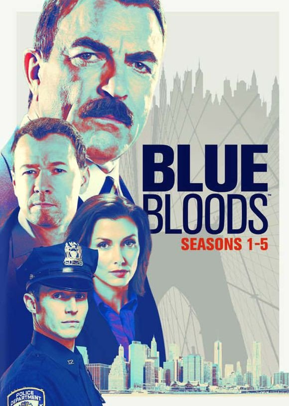 Blue Bloods - Sæson 1-5 - DVD - Tv-serie
