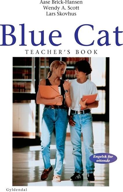 Blue Cat - Engelsk For Ottende - Aase Brick-hansen - Bog