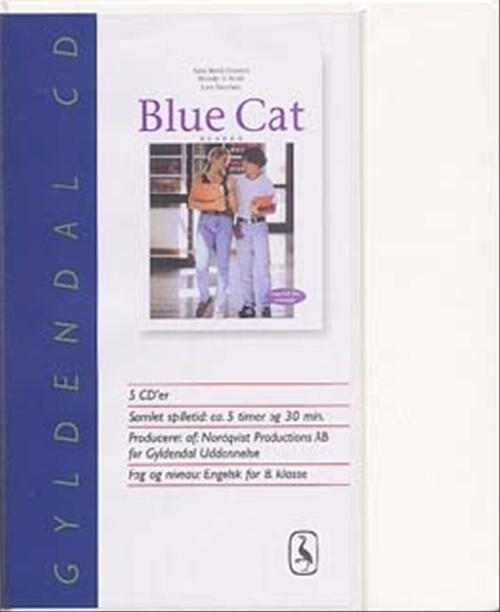 Image of   Blue Cat - Engelsk For Ottende - Aase Brick-hansen - Bog