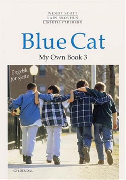 Image of   Blue Cat - Engelsk For Sjette - Lars Skovhus - Bog