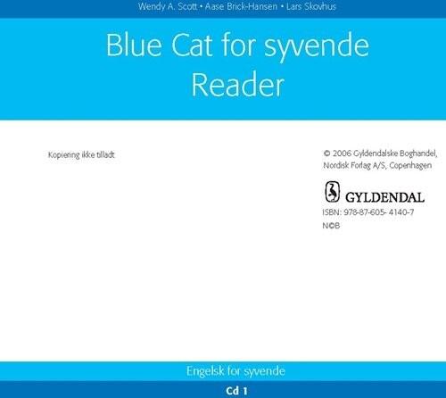 Image of   Blue Cat - Engelsk For Syvende - Aase Brick-hansen - Bog