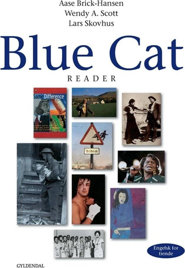 Image of   Blue Cat - Engelsk For Tiende - Aase Brick-hansen - Bog