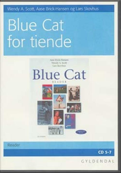 Blue Cat - Engelsk For Tiende - Aase Brick-hansen - Bog