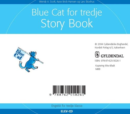 Blue Cat For Tredje - Wendy A. Scott - Bog