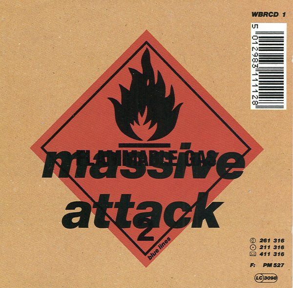 Massive Attack - Blue Lines - Vinyl / LP