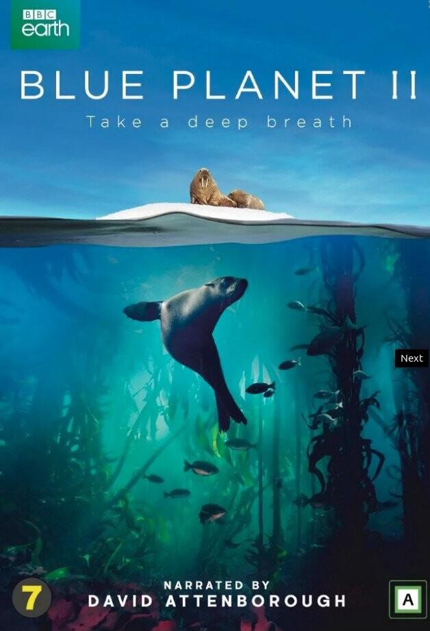 Blue Planet 2 - Bbc - DVD - Tv-serie