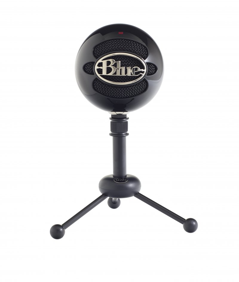 Blue Snowball Mikrofon - Sort